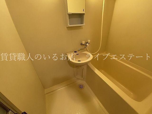 シャワーで済まされる方や、キッチンで歯磨きされる方なら、あまり気にならないかも