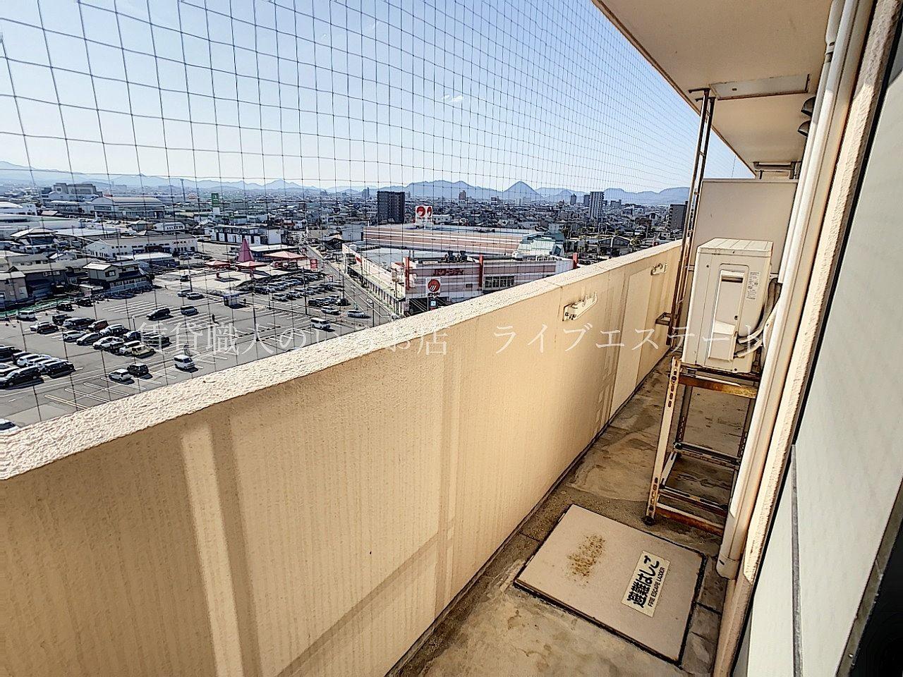 11階、南向きなので眺望はいいですよ