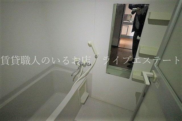 寒い冬はあったかいお風呂で暖まりたいですね(同タイプ101号室の参考写真です)