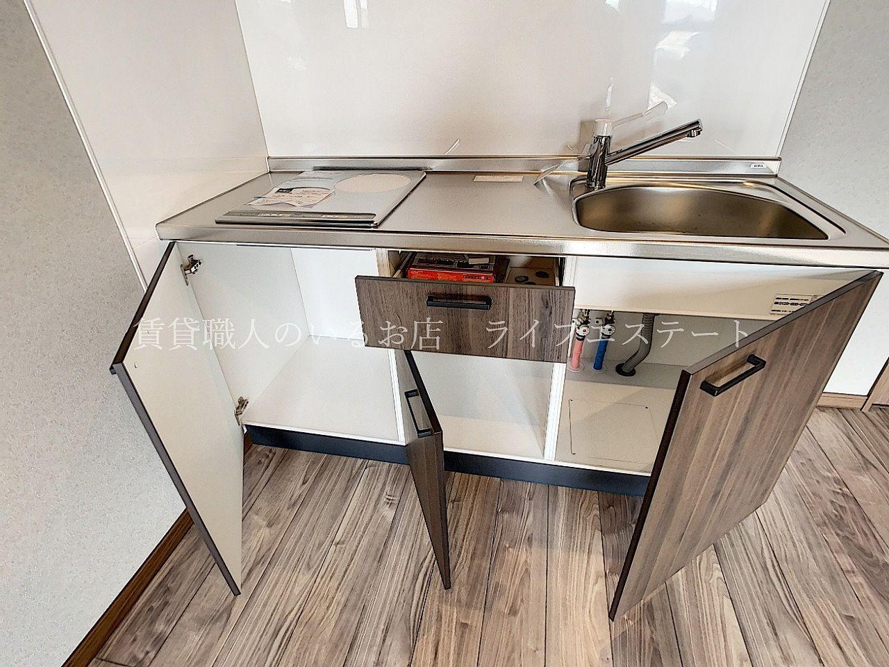 食器棚が不要ならお部屋がよりスッキリします