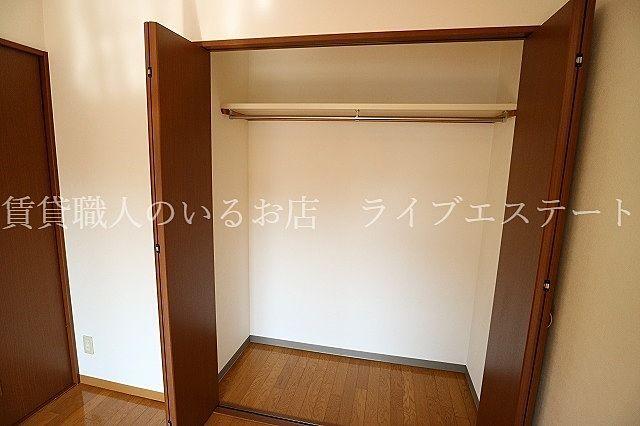 お部屋をすっきり使えます(同タイプ202号室の参考写真です)