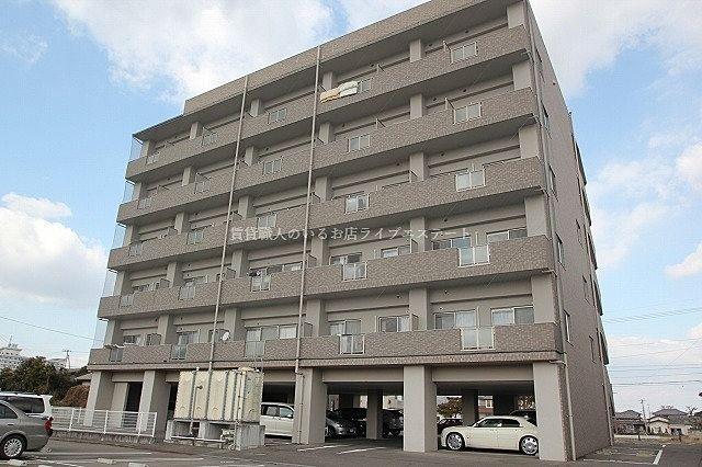 サンシャイン通り沿い、太田上町のマンションタイプ最上階の1DK
