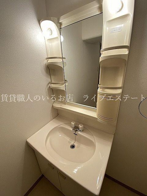 洗面所は広めです