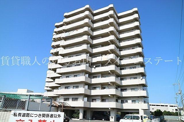イオン高松のすぐ近く香西本町・東南角部屋10階の3LDK