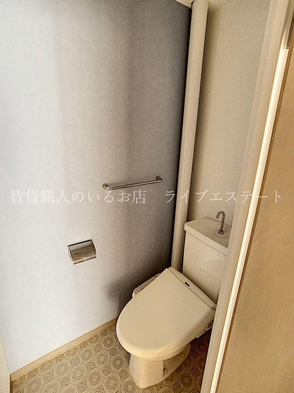 洗面脱衣所からさらに奥に入るので、音がリビングまで聞こえにくいです