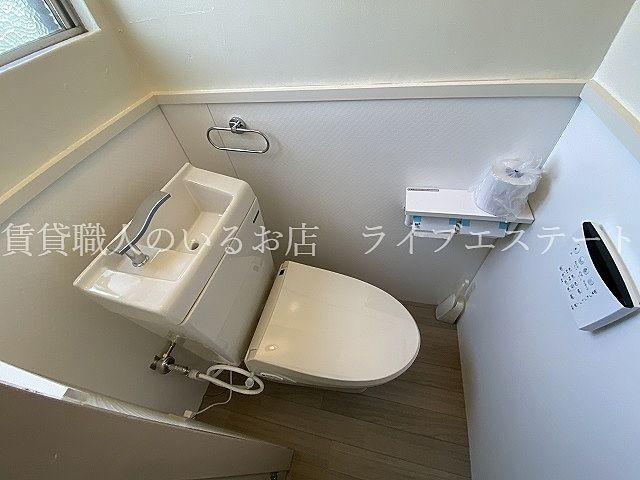 リモコンタイプのシャワートイレ