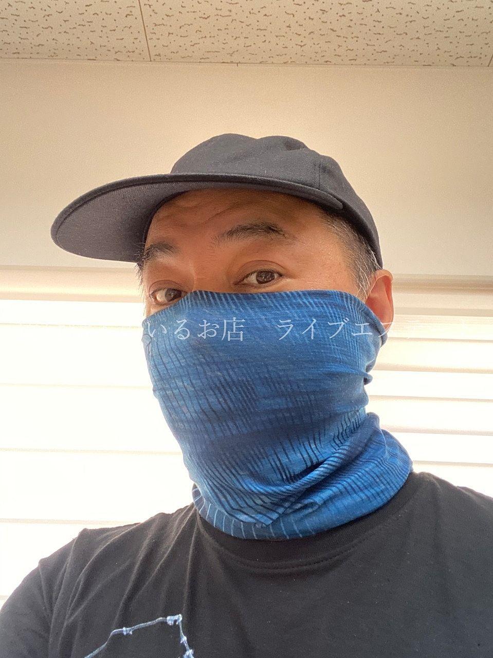 ジョギング時のマナーのためにBUFFを買いました。
