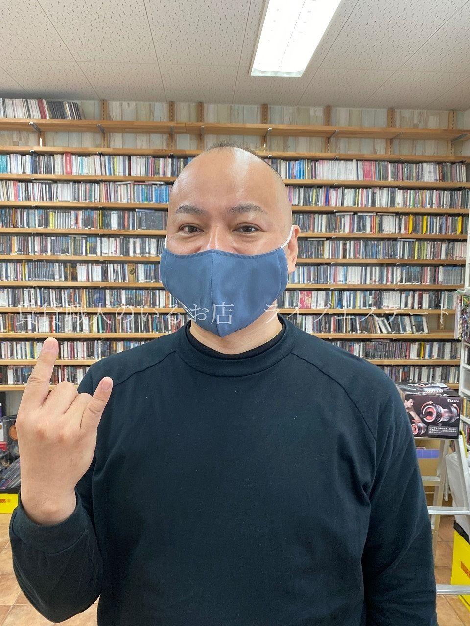マスクもおしゃれする時代(*´▽`*)