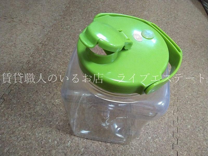 果実酒瓶 S型 4.0L (タケヤ化学工業)