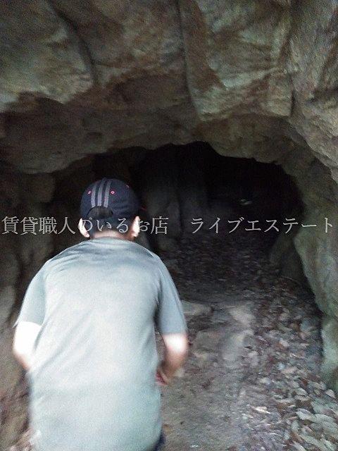 由良山の防空壕