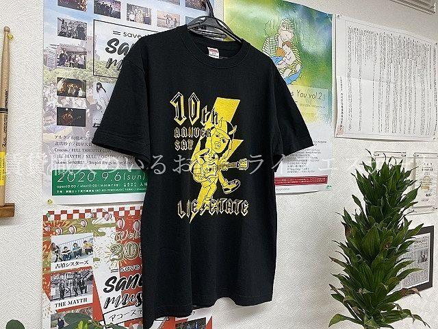10周年記念アニバーサリーTシャツ出来上がりました(*´▽`*)