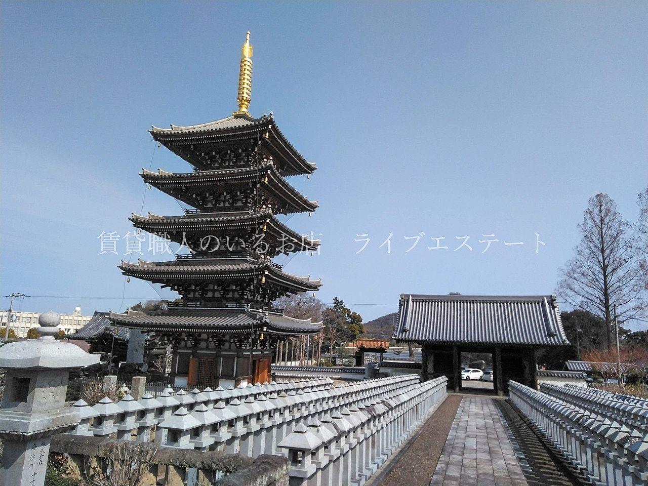 仏生山街道を通って法然寺までお散歩