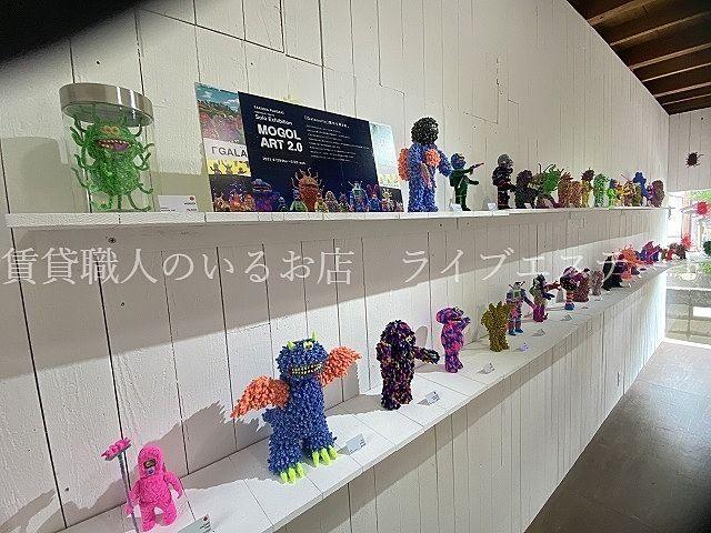高松市仏生山町甲 TOYTOYTOYでモールアーティストのフジサキタクマ展観てきました(*´▽`*)