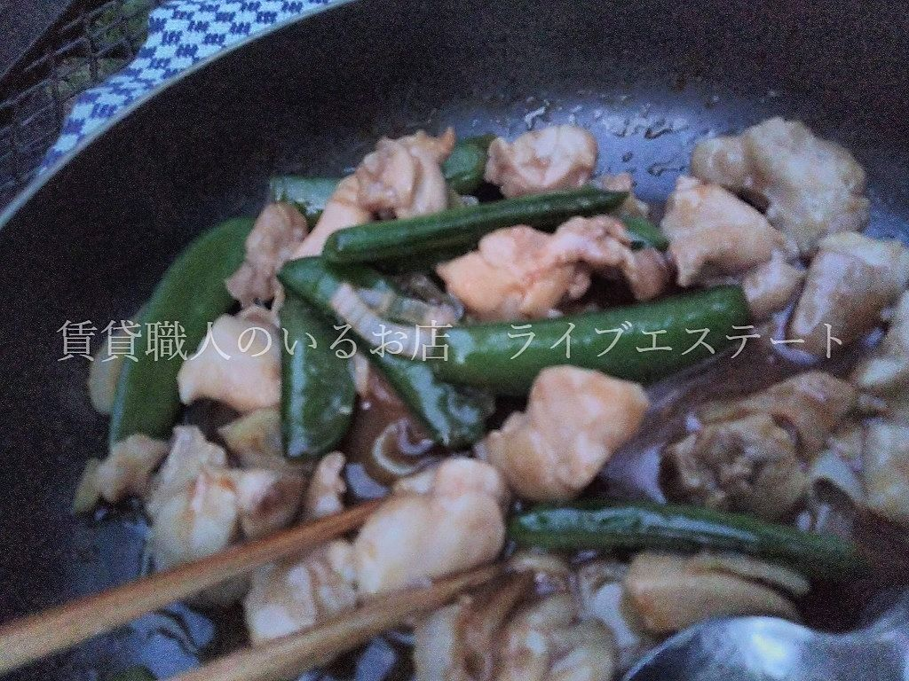 ご飯はちゃんと炊きましたよ。